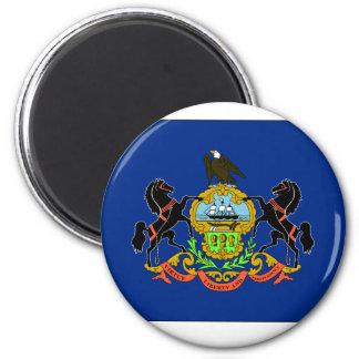 Pennsylvania State Flag Magnets