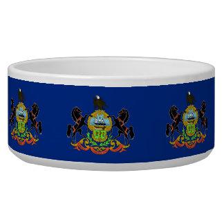Pennsylvania State Flag Pet Bowl