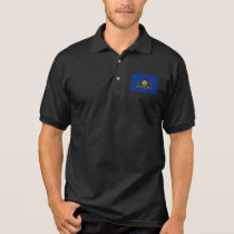 Pennsylvania State Flag Polo Shirt