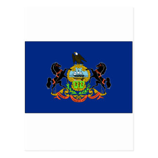 Pennsylvania State Flag Postcard