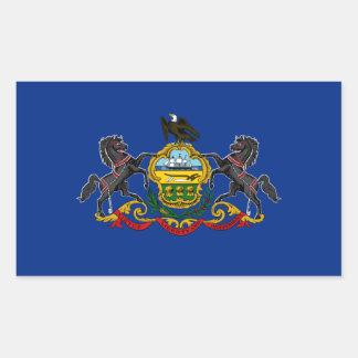 Pennsylvania State Flag, United States Rectangular Sticker
