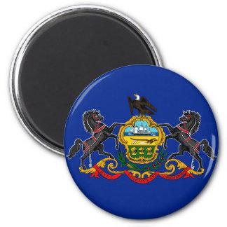Pennsylvania state flag usa united america symbol magnet