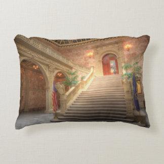 Pennsylvania State Matthew J. Ryan Building Accent Pillow