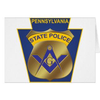 Pennsylvania State Police Card