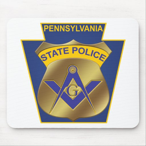 Pennsylvania State Police Mouse Mat