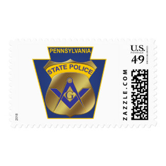 Pennsylvania State Police Stamp