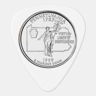 Pennsylvania State Quarter Guitar Pick