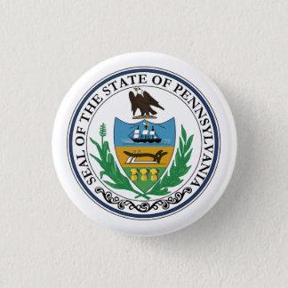 Pennsylvania State Seal - Button