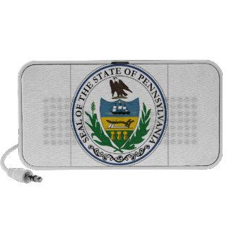 Pennsylvania State Seal Travel Speakers