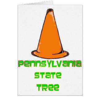 Pennsylvania State Tree Card
