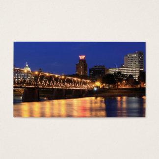 Pennsylvania State Walnut Street Bridge Business Card