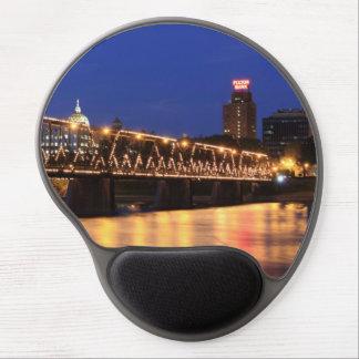 Pennsylvania State Walnut Street Bridge Gel Mouse Pad