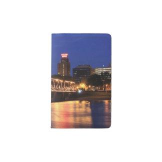 Pennsylvania State Walnut Street Bridge Pocket Moleskine Notebook