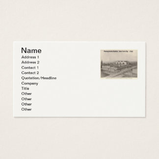 Pennsylvania Station New York 1912  Business Cards