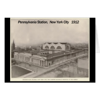 Pennsylvania Station New York 1912 Card