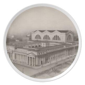 Pennsylvania Station New York 1912 Melamine Plate