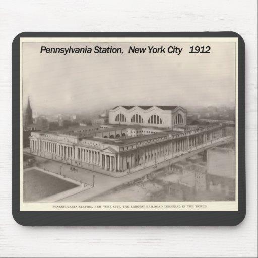 Pennsylvania Station New York 1912 Mouse Pad