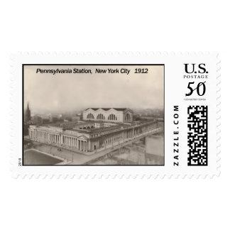Pennsylvania Station New York 1912 Postage