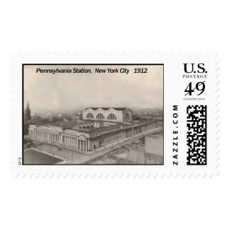 Pennsylvania Station New York 1912 Postage
