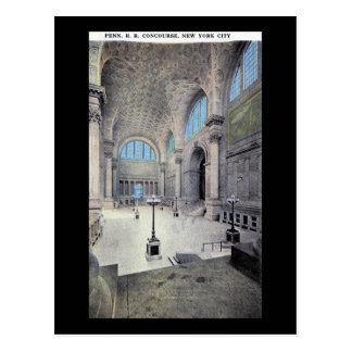 Pennsylvania Station, New York City 1913 Vintage Postcard