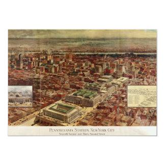 Pennsylvania Station New York City in 1910 Card