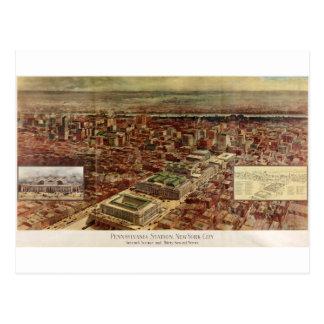 Pennsylvania Station New York City in 1910 Postcard