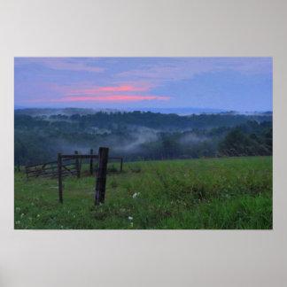 Pennsylvania Sunset Poster