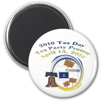 Pennsylvania Tax Day Tea Party Protest Magnet