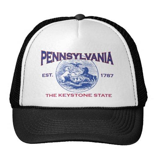 PENNSYLVANIA The Keystone State Trucker Hat