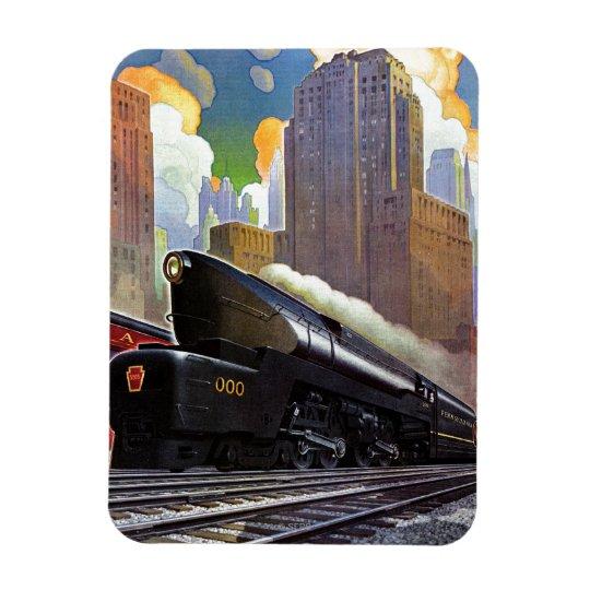 Pennsylvania Train By Unknown Magnet Zazzle Com