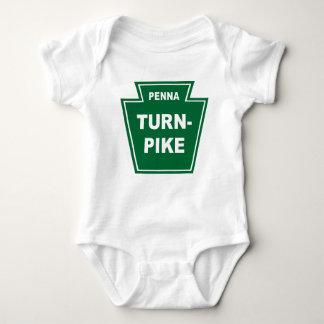 Pennsylvania Turnpike Baby Bodysuit