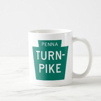 Pennsylvania Turnpike Classic White Coffee Mug