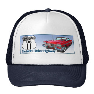 Pennsylvania US Route 11 - The Molly Pitcher Trucker Hat