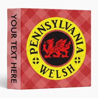 Pennsylvania Welsh American Binder