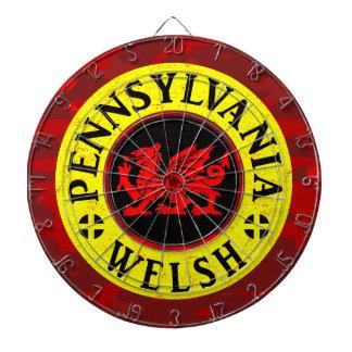 Pennsylvania Welsh American Dartboard