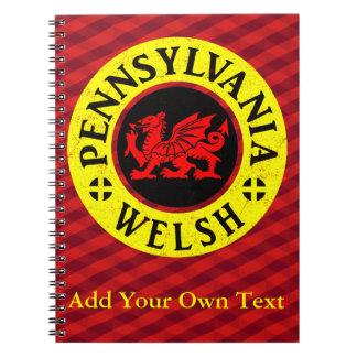 Pennsylvania Welsh American Notebook