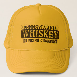 Pennsylvania Whiskey Drinking Champion Trucker Hat