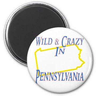 Pennsylvania - Wild and Crazy Refrigerator Magnet