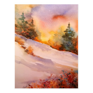 Pennsylvania Winter Sunrise Postcard