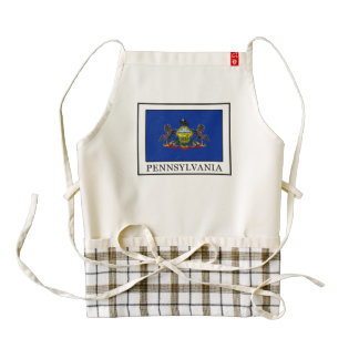 Pennsylvania Zazzle HEART Apron