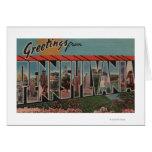 PennsylvaniaLarge Letter ScenesPennsylvania Greeting Card