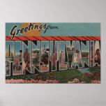 PennsylvaniaLarge Letter ScenesPennsylvania Poster