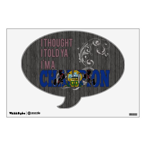 Pennsylvanian and a Champion Room Sticker