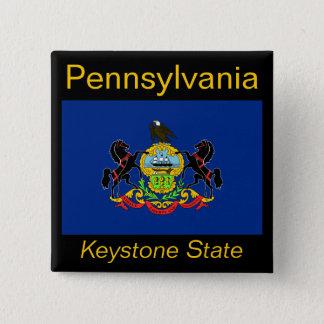 Pennsylvanian Flag Button