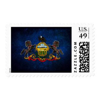Pennsylvanian Flag Postage Stamp
