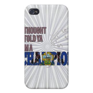 Pennsylvanian y un campeón iPhone 4 carcasa