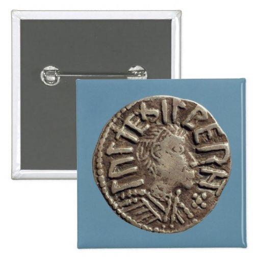 Penny Aethelberht Anglo-Saxon King East Anglia. Pins