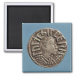Penny Aethelberht Anglo-Saxon King East Anglia. Fridge Magnet