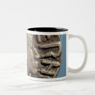 Penny Aethelberht Anglo-Saxon King East Anglia. Two-Tone Coffee Mug