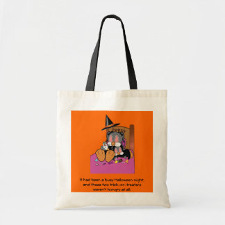 Penny and Patty Penguin: Halloween Fun Tote Bag